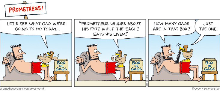 PROMETHEUS box of gags